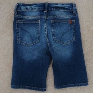 JOE'S JEANS Kids Girls Jean Bermuda Shorts 10